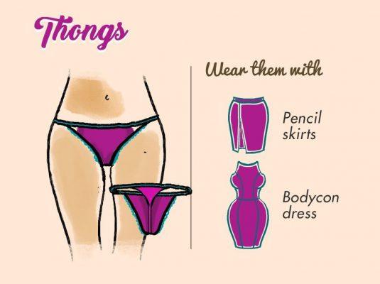 شورت های بندی یا(thongs)