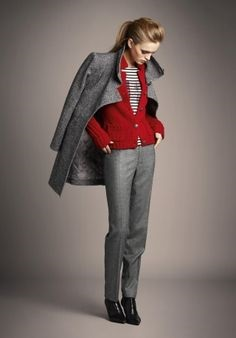 6ط - نحوه ست کردن لباس رنگ طوسی روشن و تیره   طرز ست کردن لباس طوسی
